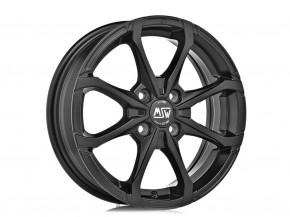 MSW X4 7x16 4/100 ET 42 MATT BLACK
