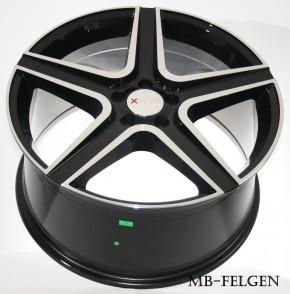 XTRA Wheels SW6 10x20 5/112 ET 50 Schwarz voll poliert