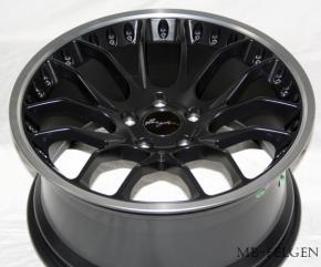 Breyton Race GTP 10,5x21 5-120 ET 30 Matt Black with Polished Lip