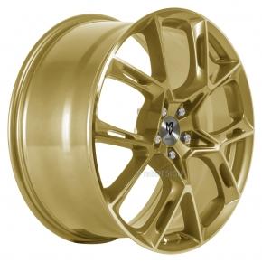 mbDESIGN KX1 8.5x20 5/114 ET 50 Gold glänzend