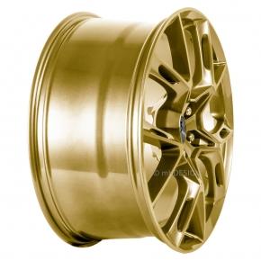 mbDESIGN KX1 10.0x21 5/114 ET 35 Gold glänzend