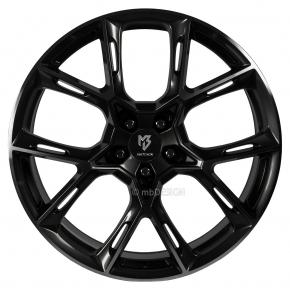 mbDESIGN KX1 8.5x20 5/108 ET 50 Schwarz glänzend