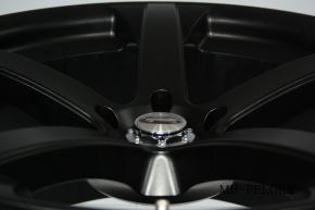 Team Dynamics Jade R MkII 8,5x18 5/110 ET 35 Racing-Black (Mattschwarz)